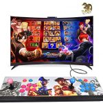 XFUNY Arcade Video game Console 1080P 3D & 2D Game titles 2020 in 1 Pandora's Box 3D 2 Players Arcade Equipment with Arcade Joystick Guidance Broaden 6000+ Game titles for Personal computer/Notebook/Television / PS4 (KOF)